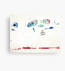 Blue by Matthew Moskowitz  Canvas Print