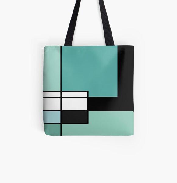 Geometrix Allover-Print Tote Bag