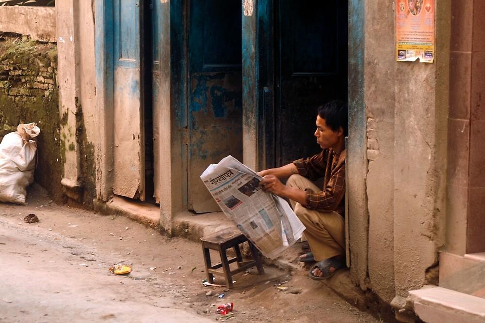 Kathmandu, Nepal  6882 by Mart Delvalle