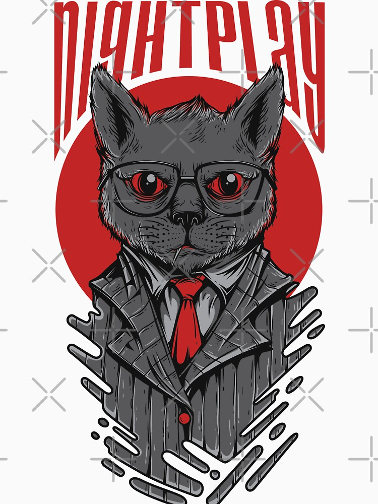 Nightplay Cat by Skullz23