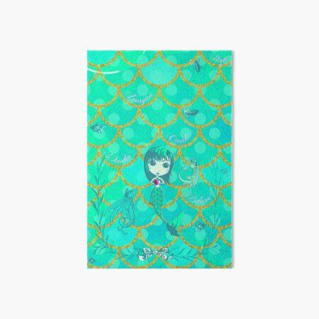 Inspired by You - Emerald Mermaid, 3rd of 4 Art Board Print