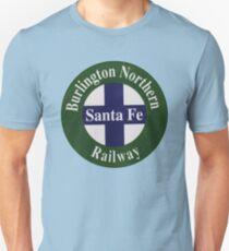 Burlington Northern Santa Fe Railway Slim Fit T-Shirt
