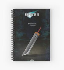 Continue Screen Final Fantasy 7 Spiral Notebook