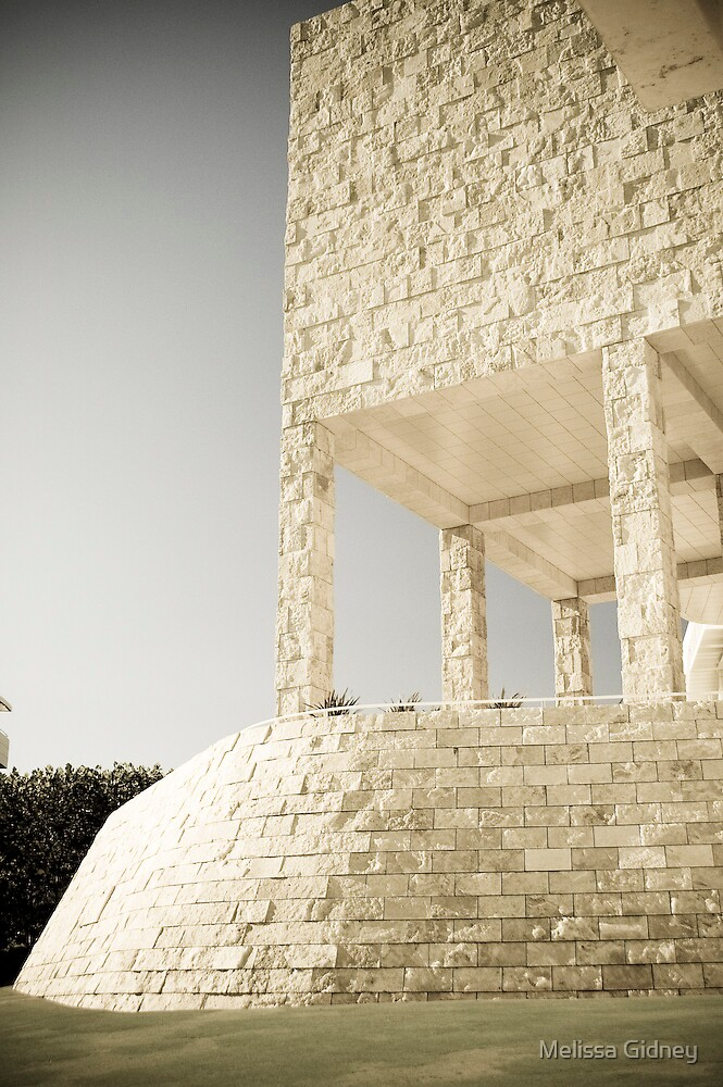 The Getty by Melissa Gidney