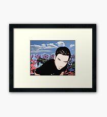 An Artists Portrait of an Artist Framed Print