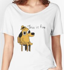 This is Fine Women's Relaxed Fit T-Shirt