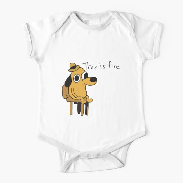 This is Fine Short Sleeve Baby One-Piece