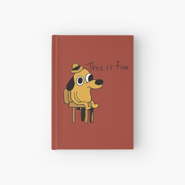 This is Fine Hardcover Journal