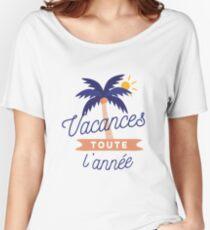 Vacances toute l'année Women's Relaxed Fit T-Shirt