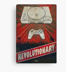 Revolutionary, Playstation Canvas Print