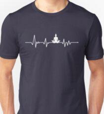 Camiseta unisex Yoga Heartbeat