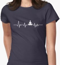 Heartbeat Yoga Women's Fitted T-Shirt