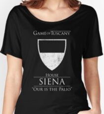 Game of Tuscany - Siena Women's Relaxed Fit T-Shirt
