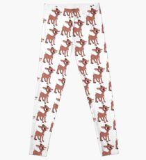 331774dc2b3c13 Rudolph the Red Nosed Reindeer Leggings | Redbubble