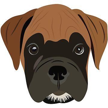 Boxer-Welpenliebe von graphicloveshop