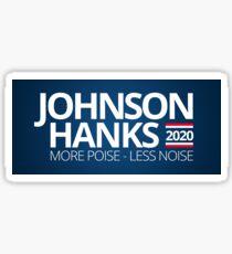 Johnson Hanks 2020 Sticker