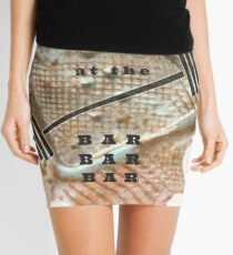 MEET ME AT THE BAR - FITNESS BARBELL WORKOUT Mini Skirt