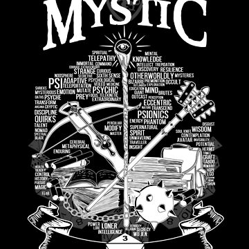 RPG Class Series: Mystic - White Version by Milmino