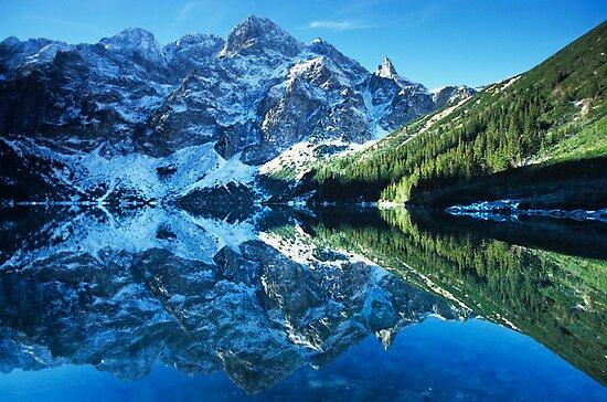 Mountain Lake by Kasia Nowak