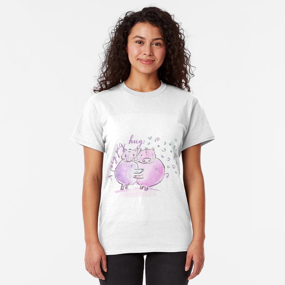 A pig pig hug! Classic T-Shirt