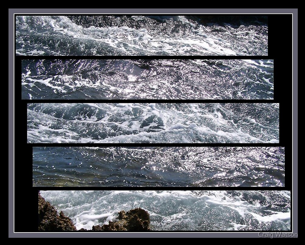 See Sea Water Flow Past Fast!. by Craig Watson