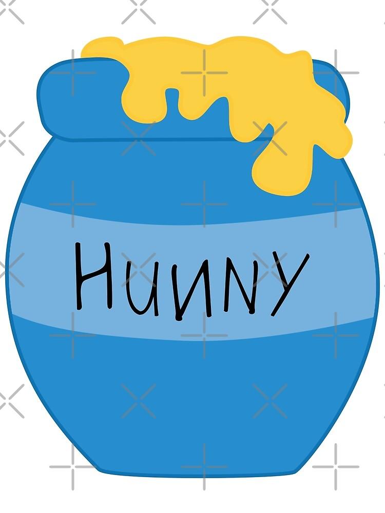 Hunny Pot - Puuh von graphicloveshop