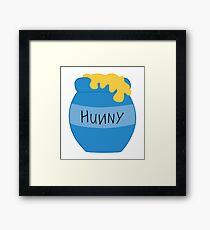 Hunny Pot - Pooh Framed Print