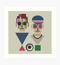 Bauhaus Boys Art Print