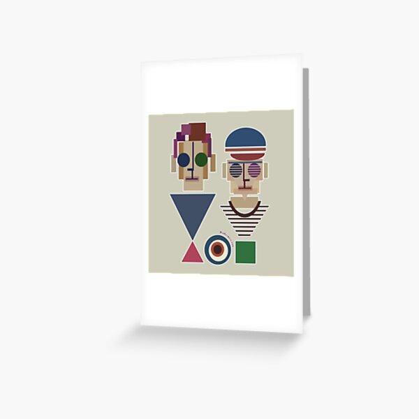Bauhaus Boys Greeting Card