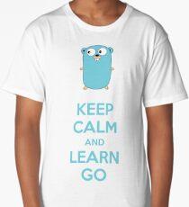 Keep calm and Learn Go - Light edition Long T-Shirt