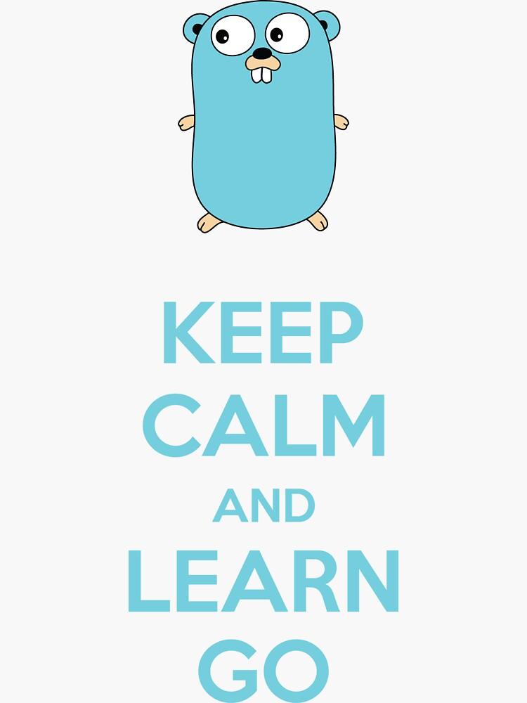 Mantén la calma y aprende Go - Light edition de zoerab