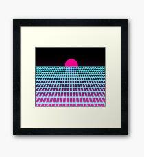 Vaporwave Framed Print