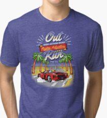 Racing Adventure  Tri-blend T-Shirt