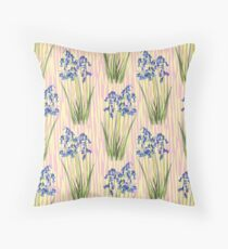 Bluebell Meadow Throw Pillow