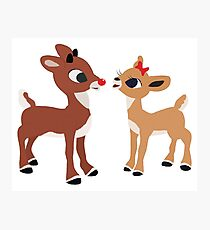 Classic Rudolph and Clarice Photographic Print