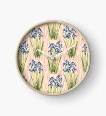 Bluebell Meadow Clock