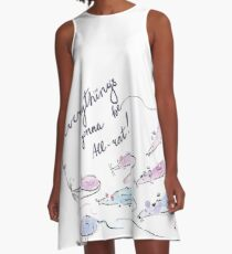 Everything's gonna be all-rat! A-Line Dress