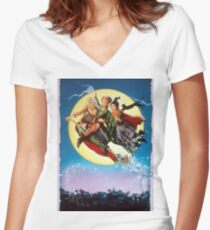 Hocus Pocus 2 Women's Fitted V-Neck T-Shirt