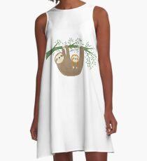Sloths A-Line Dress