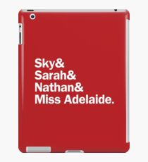 Guys and Dolls Characters | Red iPad Case/Skin