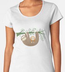Sloths Premium Scoop T-Shirt