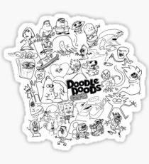 Doodle Doods - Chris Collage Sticker