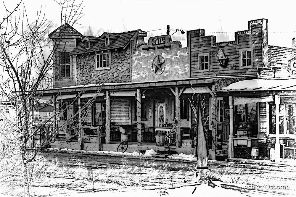 western town by Ashley Osborne