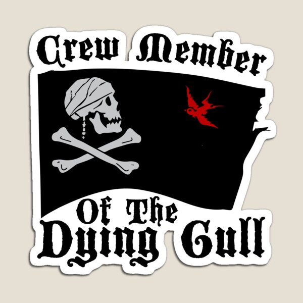 Pirates of the Dying Gull Magnet