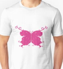 Abstract Fantasy Butterfly 4 Unisex T-Shirt