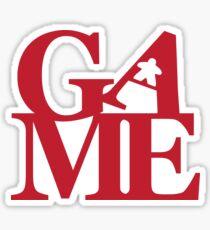 Game Love Sticker