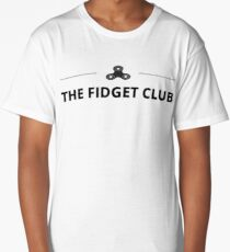 fidget spinner club Long T-Shirt