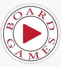 Play Board Games Sticker