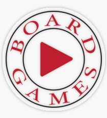 Play Board Games Transparent Sticker