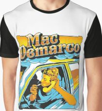 mac demarco in his car Graphic T-Shirt